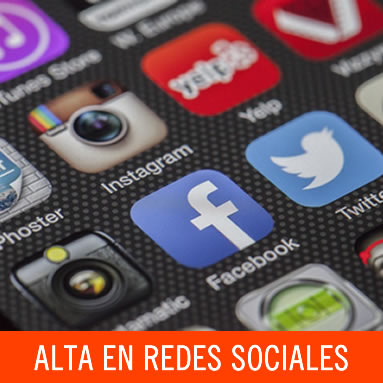 Alta de perfil en redes sociales