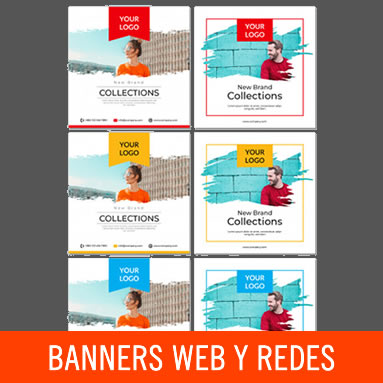Banners para sitios y redes sociales