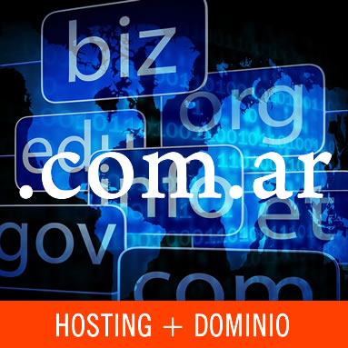 Hosting + dominio .com.ar