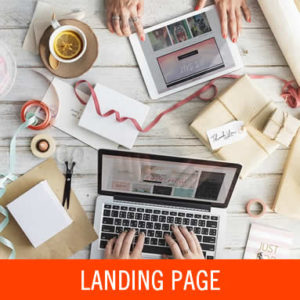 Landing page, página de aterrizaje