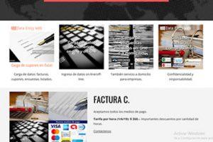 Sitio web simple autoadministrable