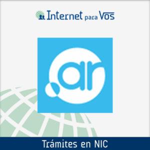 Trámites en NIC Argentina