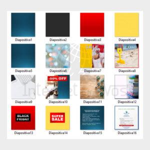 Plantilla de 14 banners para redes sociales: WhatsApp, Instagram, Facebook 1