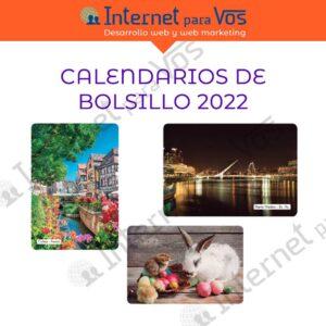 Calendarios de bolsillo 2022