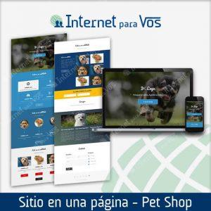Sitio todo en uno para Pet Shop